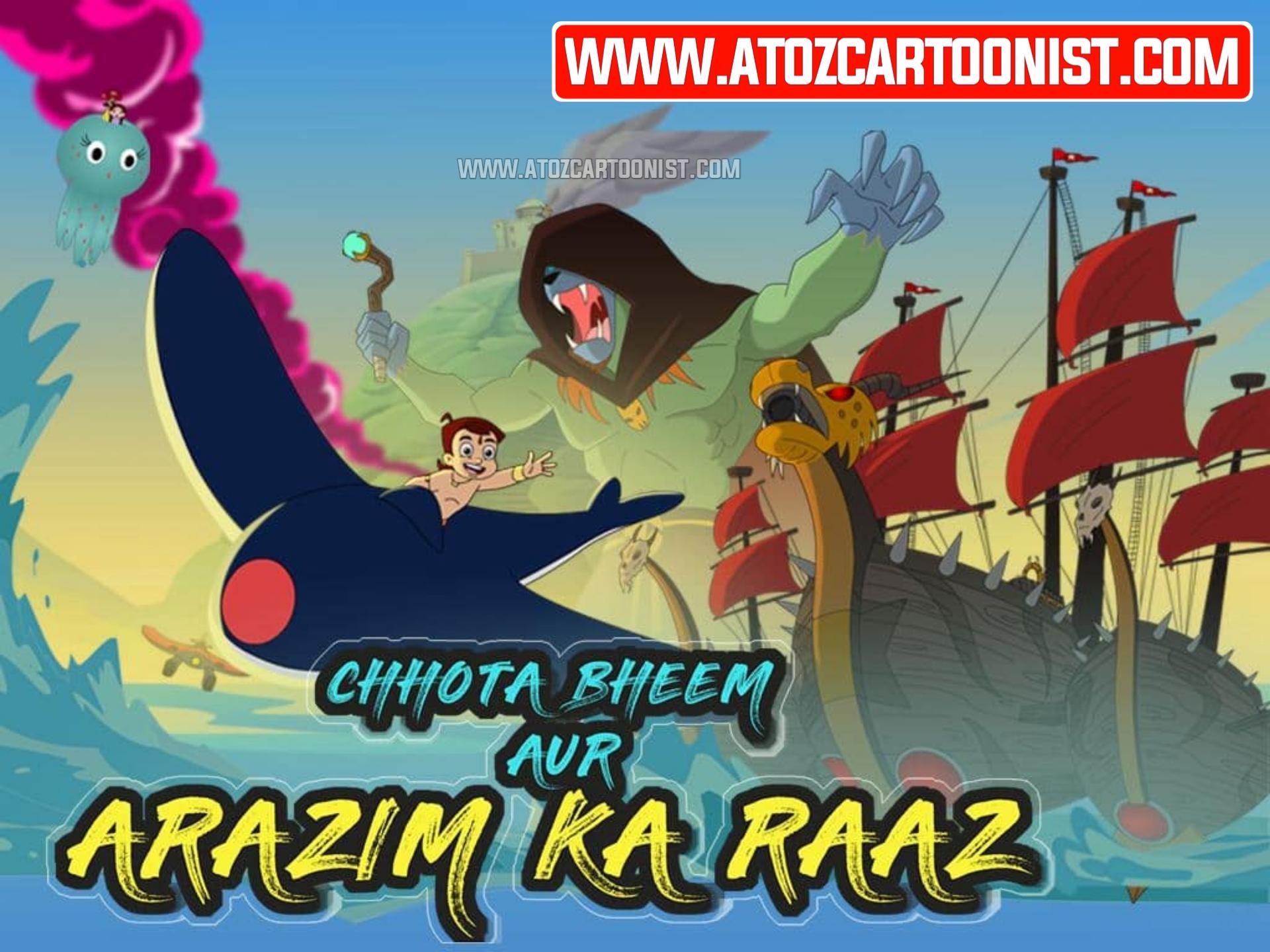 CHHOTA BHEEM AUR ARAZIM KA RAAZ FULL MOVIE IN HINDI & TAMIL DOWNLOAD (480P, 720P & 1080P)