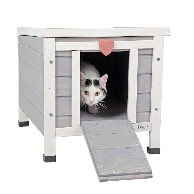 Petsfit Weatherproof Outdoor/Indoor Pet House