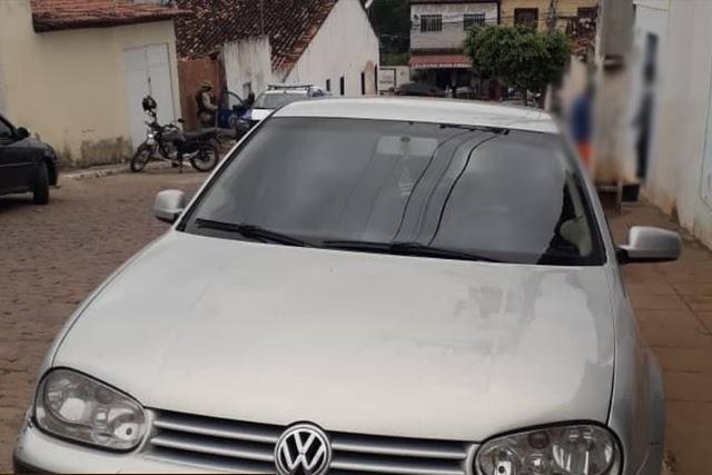 Cipe Chapada recupera veículo com restrição de furto e roubo em Itaetê