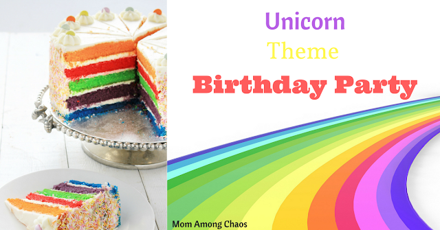 Unicorn Theme Birthday Party