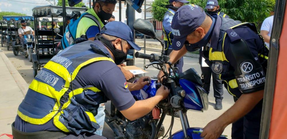 hoyennoticia.com, Realizan inventario de motocicletas en Fonseca