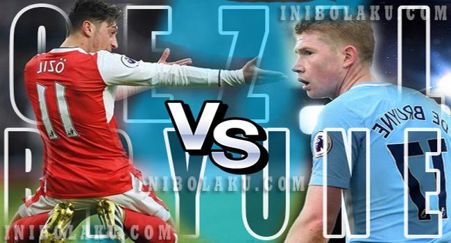 #KerenMana? Mesut Oezil vs Kevin De Bryune, Cek Statistiknya Yuk....!!!