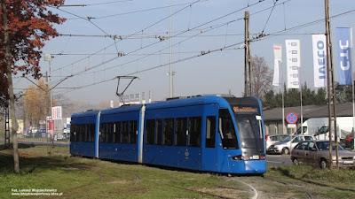 Bombardier Flexity Classic NGT8, MPK Kraków