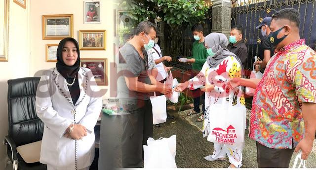 Pendekatan Sosial Bunda Hj.Rizayati , SH,MM untuk Warga Jabodetabek