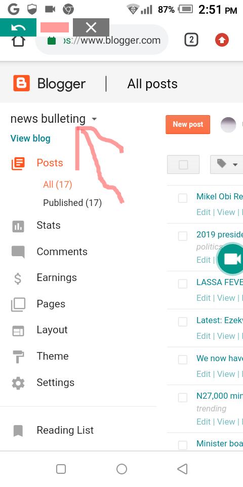 Retrieve deleted blogger blog