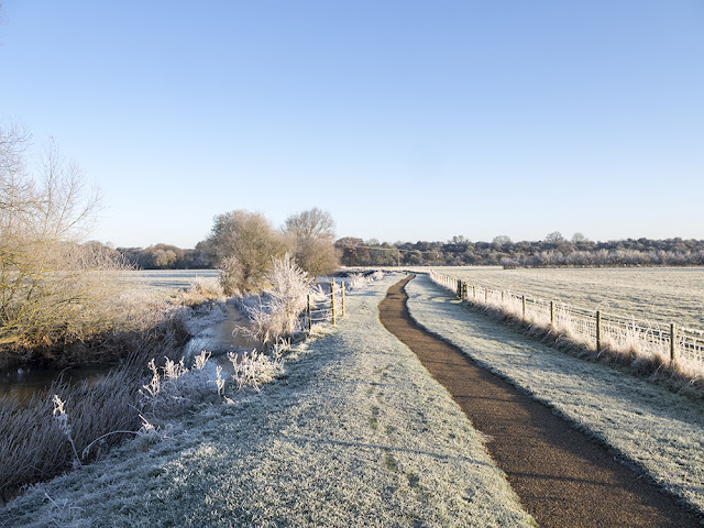 Frosty River Ouse