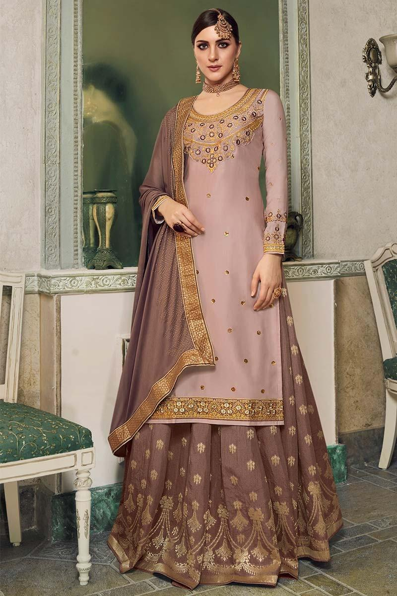 Skirt-style Salwar Suit