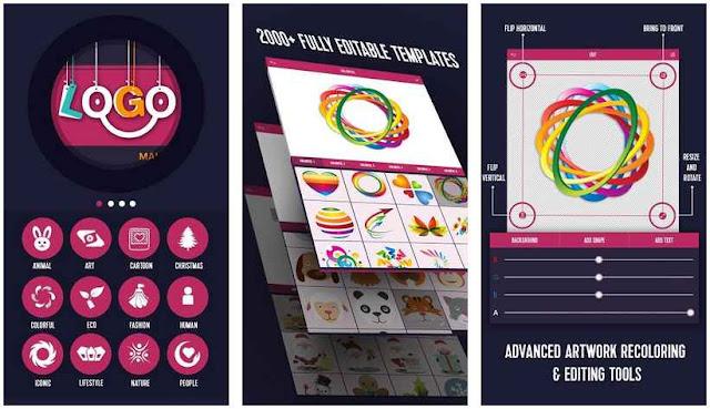 Logo Generator - Aplikasi Membuat Logo Terbaik di Android