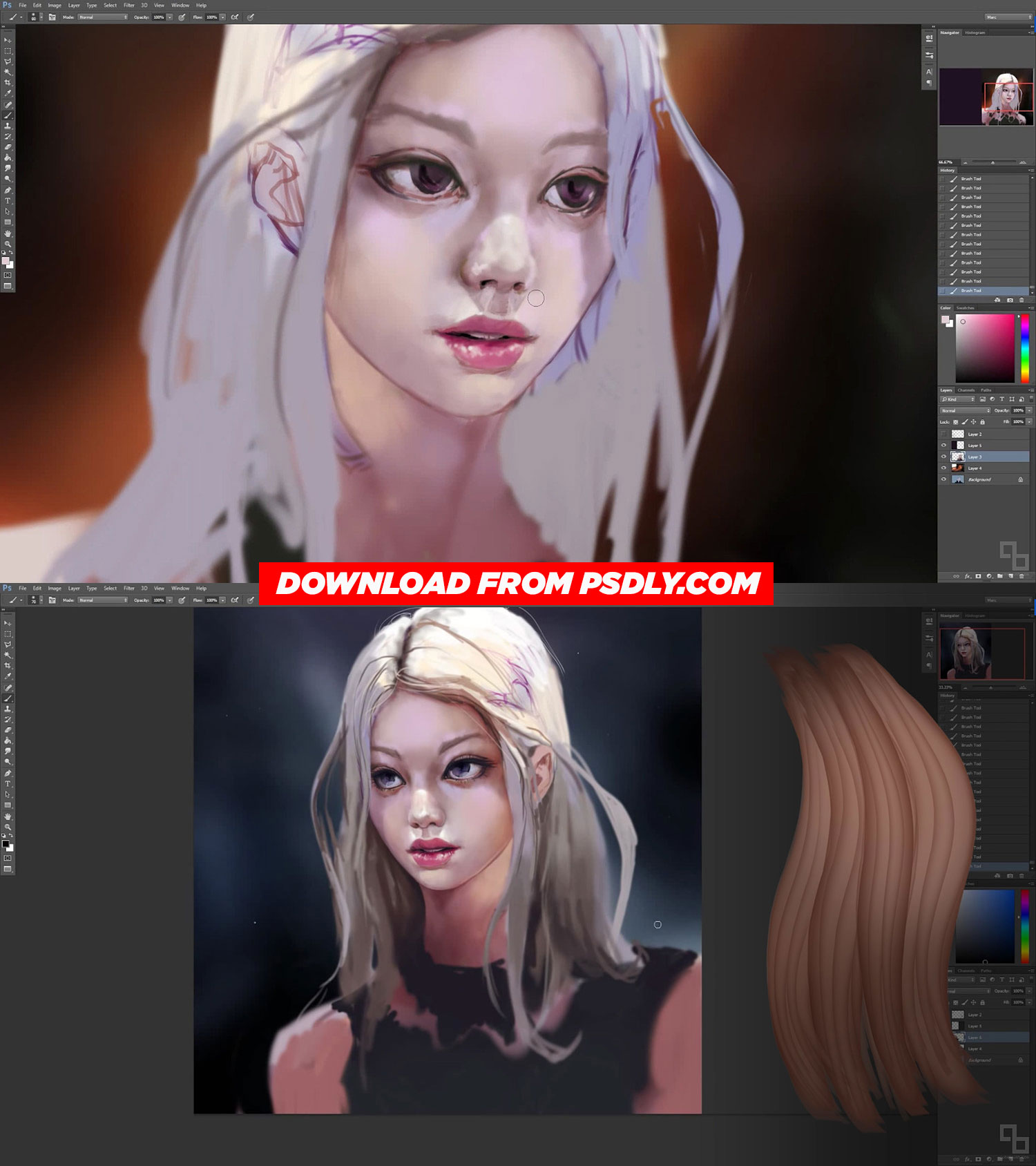 Painting Character Portraits By Marc Brunet Free Download