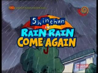 Shinchan Special Episode Shin Chan - Rain Rain Come Again