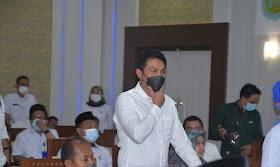 Bupati Batanghari Fadhil Arief Hadiri kegiatan Percepatan penyelesaian Batas Daerah di provinsi Jambi