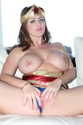 Sophie Dee wonder woman naked boobs naked pussy