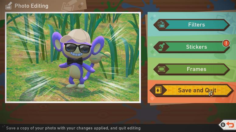 New Pokémon Snap - Photo Editor