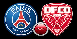 مشاهدة مباراة باريس سان جيرمان وديجون اليوم الدوري الفرنسي