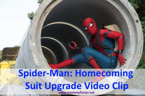 Spider-Man: Homecoming Suit Upgrade Video Clip