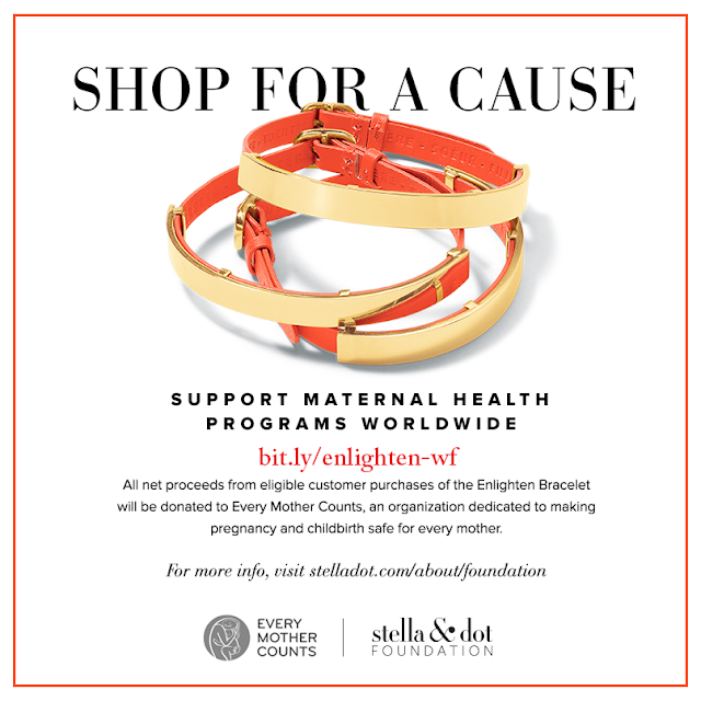 Enlighten Bracelet - Every Mother Counts