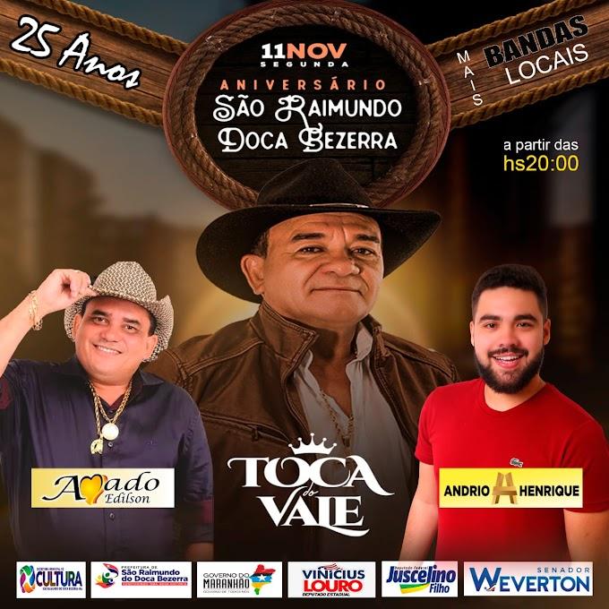 São Raimundo do Doca Bezerra comemora seus 25 anos com uma grande festa