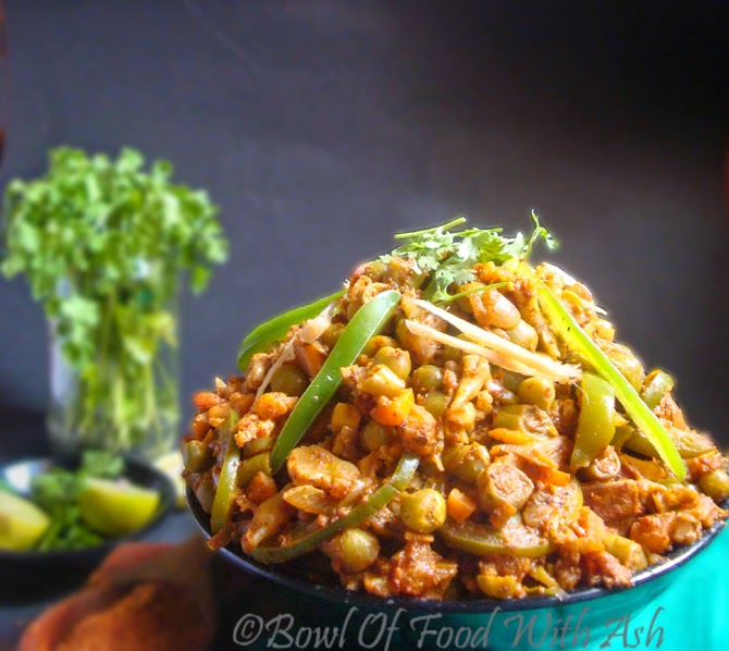 Kadhai/kadai  Vegetables Recipe
