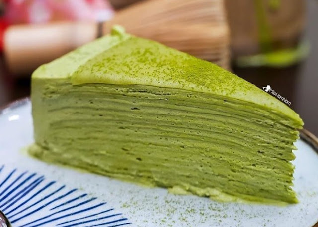 Lezatnya Green Tea Matcha di Central Park Mall Jakarta.