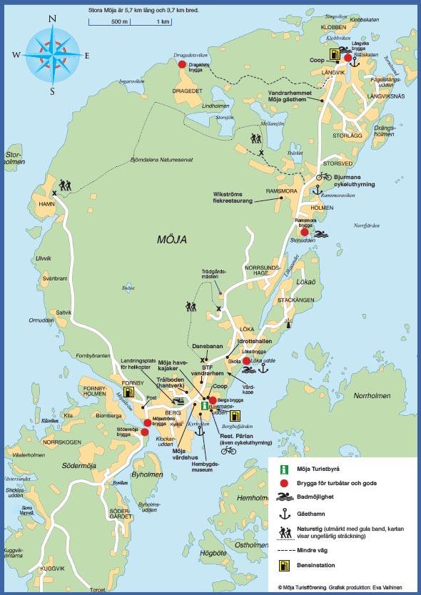 möja karta Oskar blir lite smartare: Möja   mer Sverige kan det knappast bli! möja karta