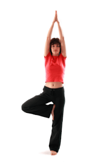 Gerakan yoga Tree pose