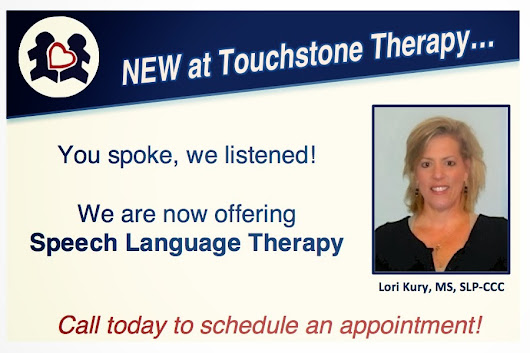 We now have speech therapy!