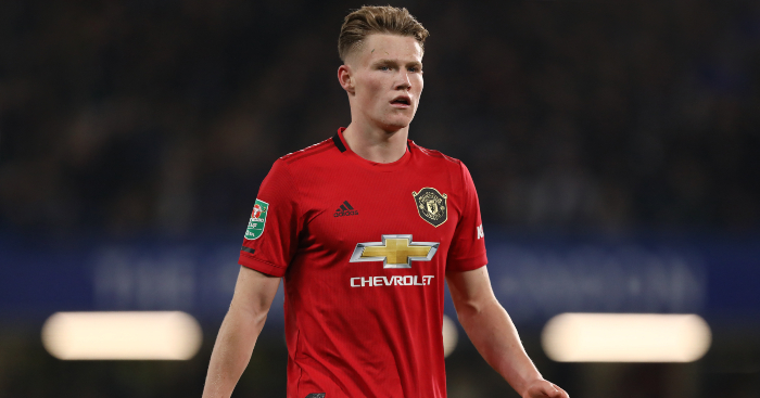 Industrious midfielder Scott McTominay