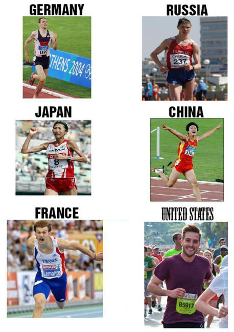 Photogenic guy - Greatest Runners From Several Countries