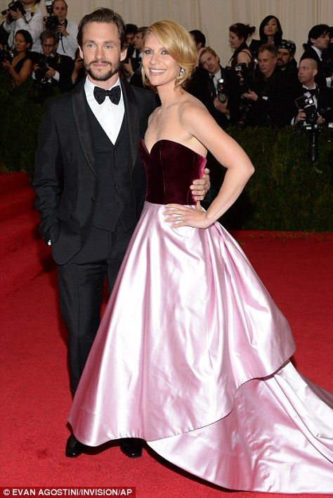 Claire Danes and Hugh Dancy at the Met Gala 2014