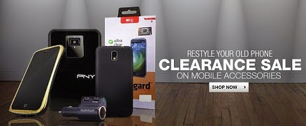 Clearance Sale' 2014: Huge Discount (Upto 93% Off) on Mobile Phone Accessories @ Flipkart