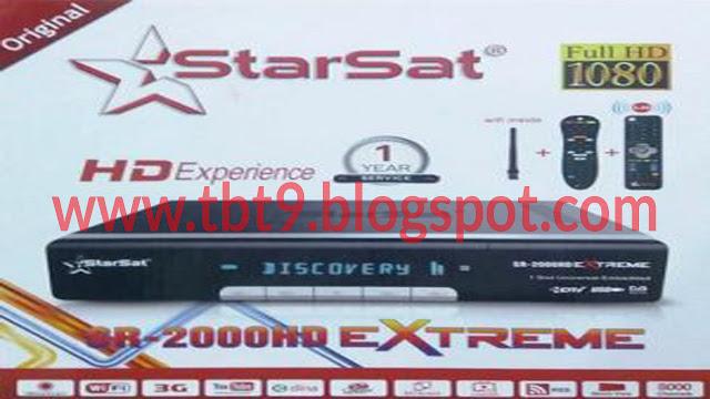 STARSAT SR-2000 EXTREME HD RECEIVER  NEW SOFTWARE  VERSION V2.62