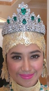 emerald tiara queen saleha brunei princess raabi'atul