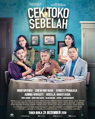 Poster Film Cek Toko Sebelah