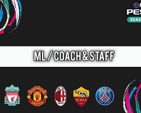PES 2021 Coach & Staff 2021 Mods (12 Teams)