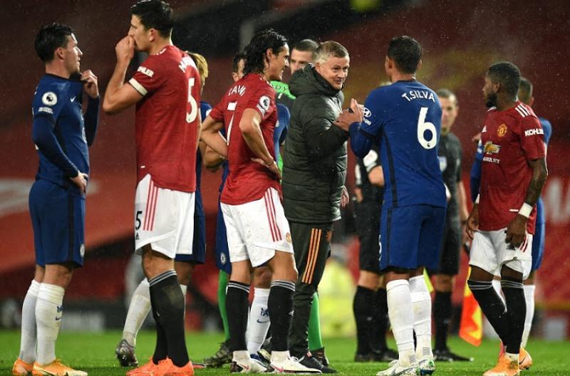 Pertarungan Man United vs Chelsea di Old Trafford Tak Ada Pemenang