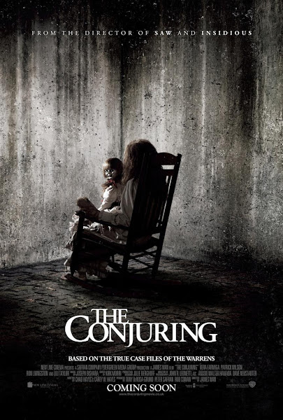 Poster of The Conjuring 2013 Dual Audio [Hindi-English] 1080p BluRay ESubs Download