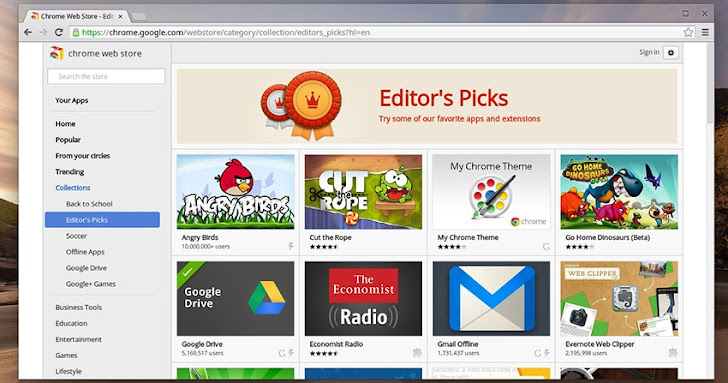 Google added malicious apps scanner to Chrome Web Store