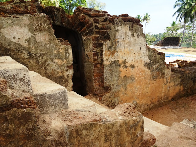 Muziris water tour - Interior of the Kodungallur Fort