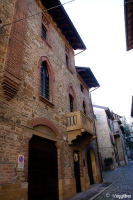Vie del borgo medievale di Castell'Arquato