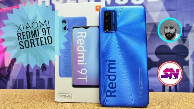 Sorteio de um Xiaomi Redmi 9T 128GB