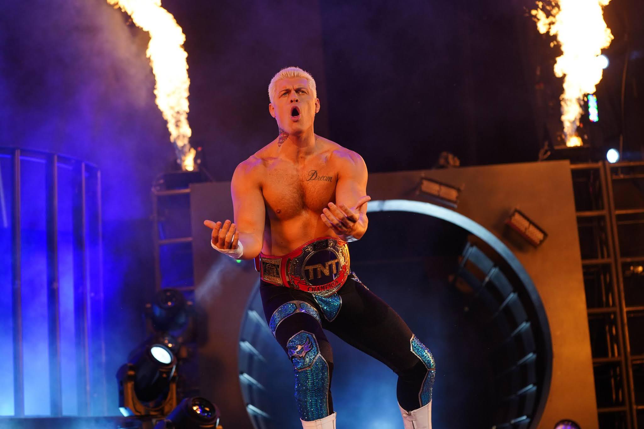 Cody Rhodes revela que a AEW está planejando criar novo título na divisão de equipes