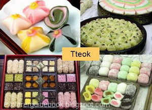 makanan korea tteokbokki kue beras pedas