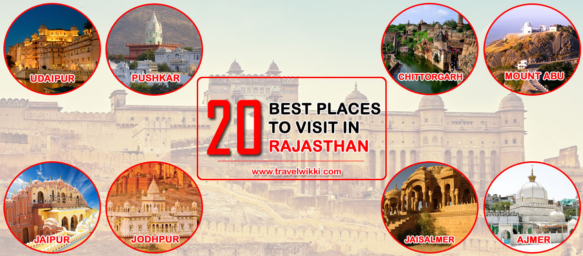 20 Places To Visit In Rajasthan
