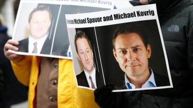 China acusa formalmente de espionaje a dos canadienses detenidos