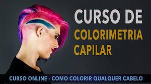 Curso Cabeleireiro - Aperfeiçoamento em Colorimetria