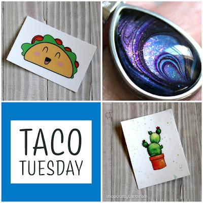 Taco Tuesday Fresh Stickers