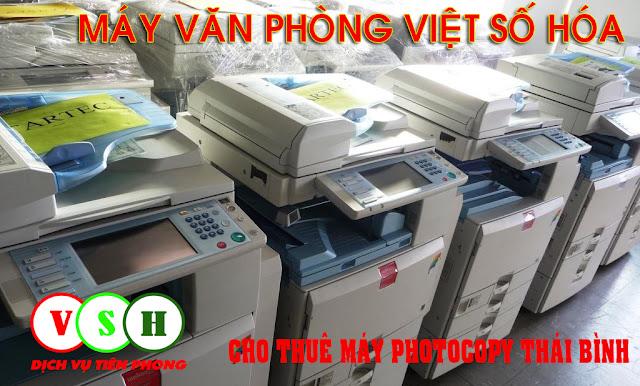 Cho thuê máy photocopy thái bình giá rẻ