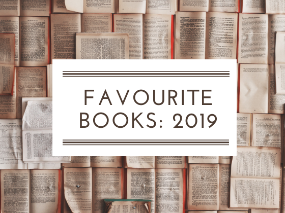 Favourite books read in 2019