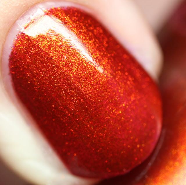 Tonic Nail Polish Lava Lust