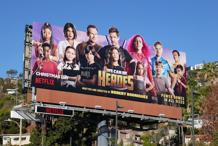 We Can Be Heroes Netflix film billboard